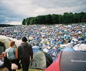 amazing, crowded, and tents image