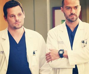 grey's anatomy, alex karev, and jackson avery image