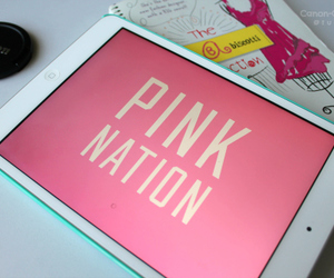 pink, ipad, and Victoria's Secret image