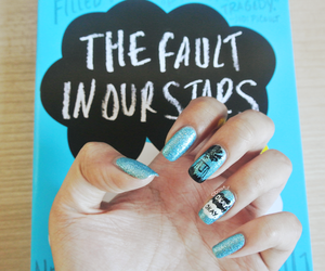 book, tfios, and nails image