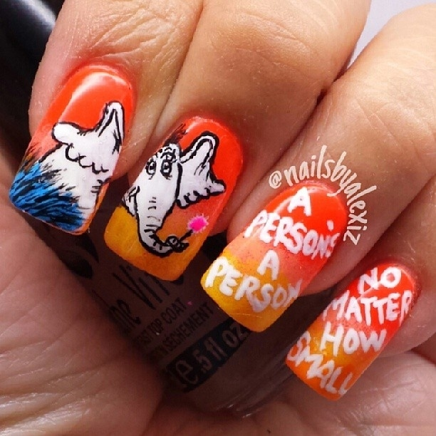15 Works Of Nail Art Inspired By Your Favorite Childrens Books