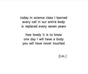 quotes, science, and love image