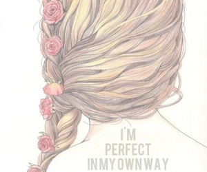 beauty, braid, and hipster image