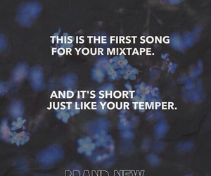 brand new, mix tape, and rock image