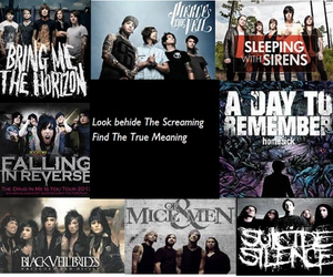 bands, a day to remember, and suicide silence image