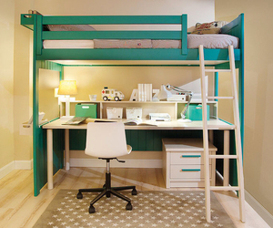 bed, bunk bed, and diy image