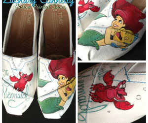 ariel, shoes, and art image