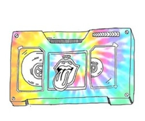 overlay, transparent, and tiedye image