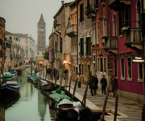 canals, italy, and places image
