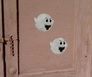 ghost, door, and mario image