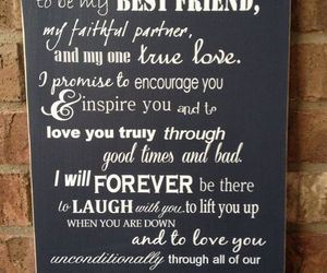 love, best friend, and forever image