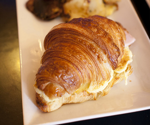 bistro, breakfast, and croissant image
