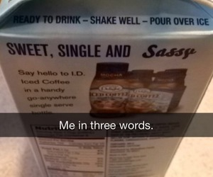 single, funny, and sassy image