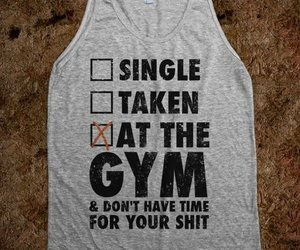 gym, fitness, and fit image