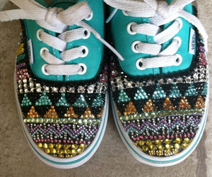 shoes, vans, and tribal image