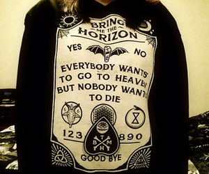 bmth, bring me the horizon, and band merch image