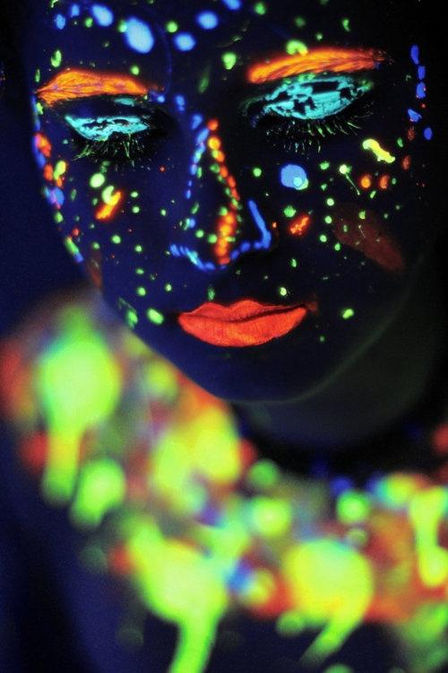 New Photography Ideas Black Light Uv Neon Body Art