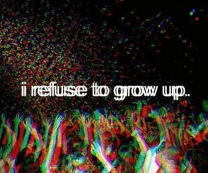 party, grow up, and young image