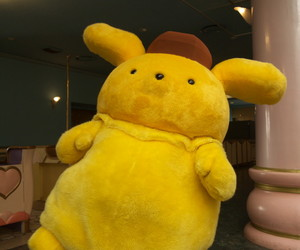 sanrio, yellow, and purin image