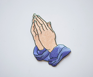 pray, Drake, and hands image