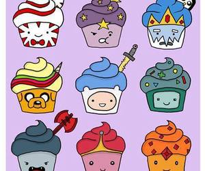adventure time, cupcake, and hora de aventura image