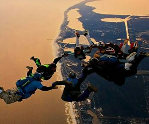 adrenaline, skydiving, and amazing image