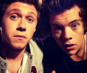 one direction, niall horan, and Harry Styles image