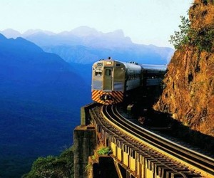 brazil, train, and beautiful image