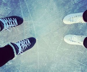 ice, skating, and winter image