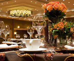 luxury and dinner image