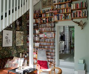 books, house, and room image