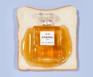 chanel, perfume, and honey image