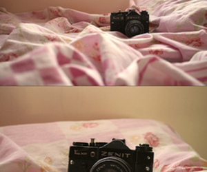 camera, cute, and lady image