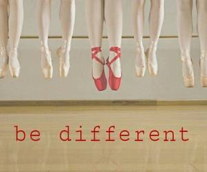 different, quote, and ballet image
