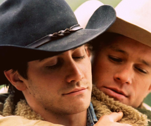heath ledger, brokeback mountain, and jake gyllenhaal image