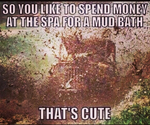 country, fun, and mud image