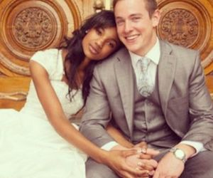 couple, interracial, and marriage image