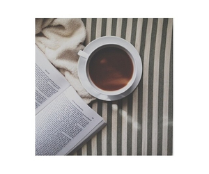 book, coffee, and pale image