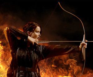 katniss everdeen, hunger games, and the hunger games image