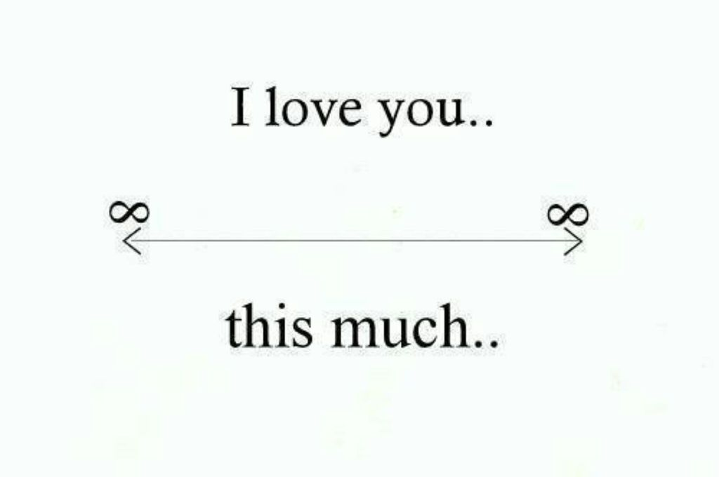 Infinity Love Quotes Adorable I Love Yousharednoor Alshannaq On We Heart It