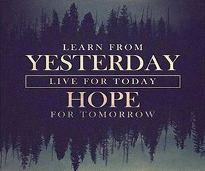 hope, today, and love image