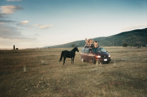 photography, ryan mcginley, and van image
