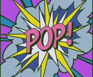pop, art, and pop art image