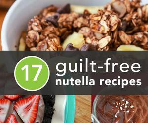nutella, recipes, and yum image