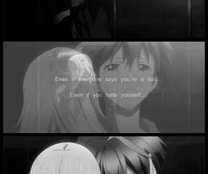 anime, guilty crown, and quote image