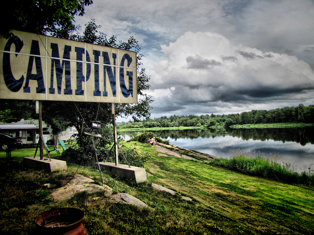 camping, trois-rivieres, and canada image