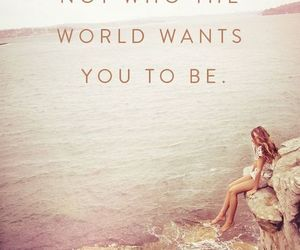 be yourself, beautiful, and girl image
