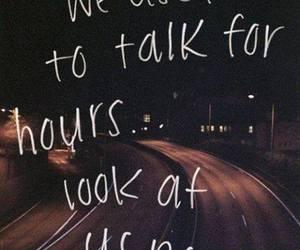 quotes, talk, and sad image