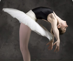ballet, dancer, and text image