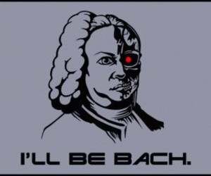 bach and terminator image